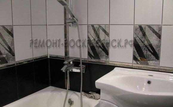 и как положить плитку ванной в