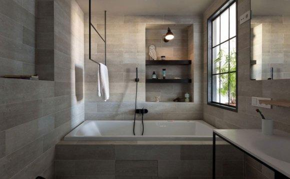 Квадратные ванные фото