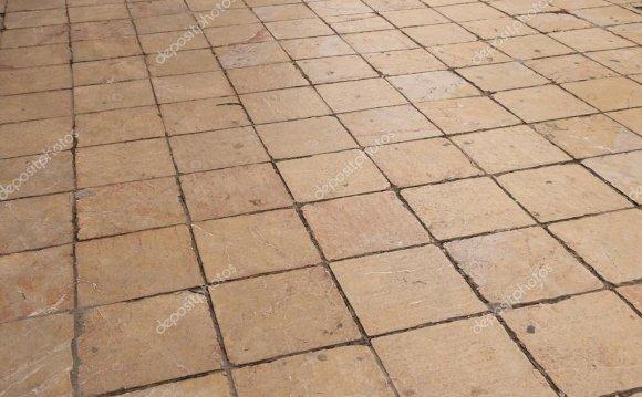 Пол из плитки – Стоковое